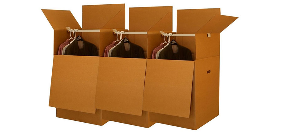 Wardrobe Boxes for Moving - Brampton Movers